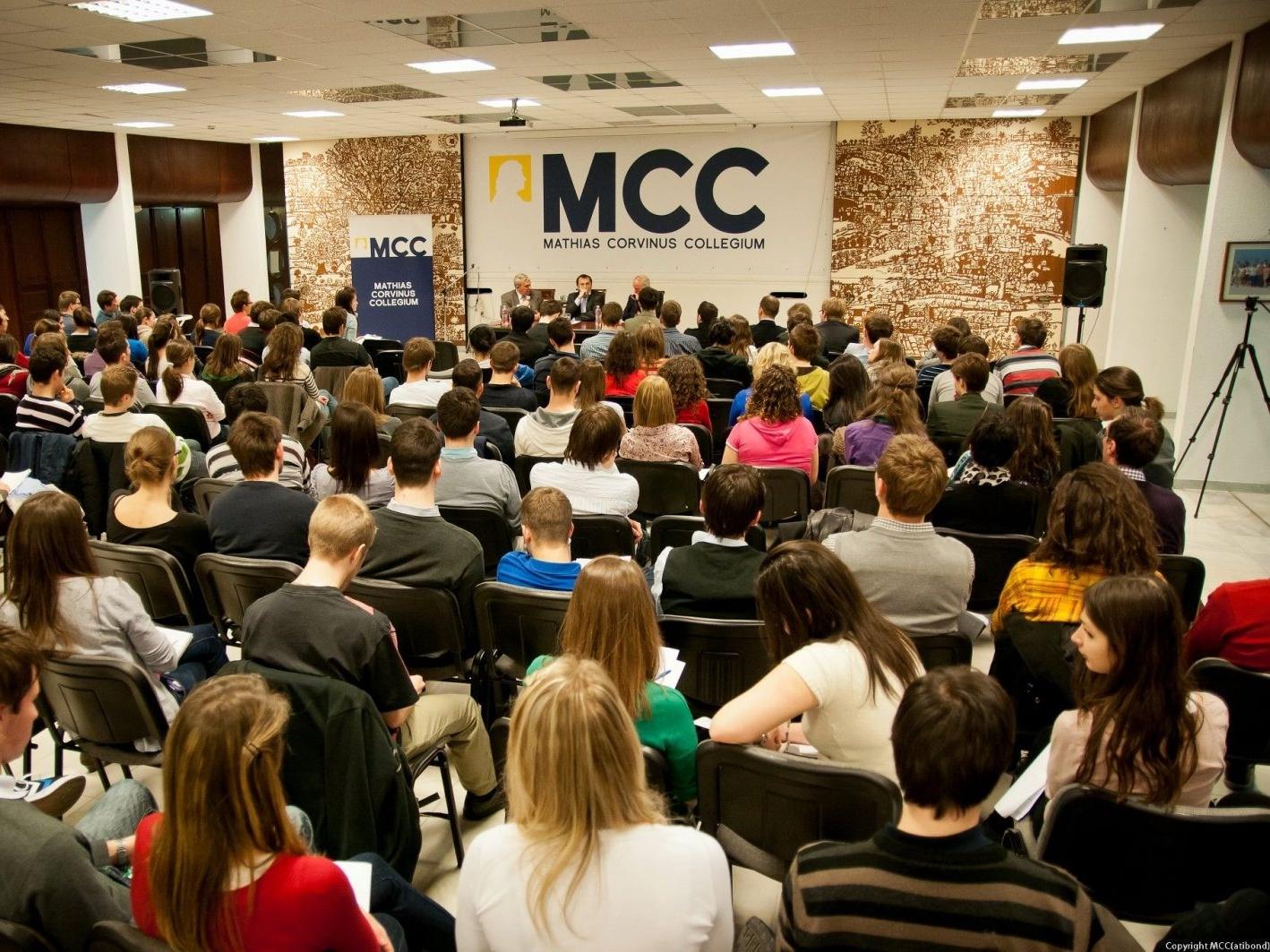 Mathias Corvinus Collegium – tehetséggondozó előadás-sorozat