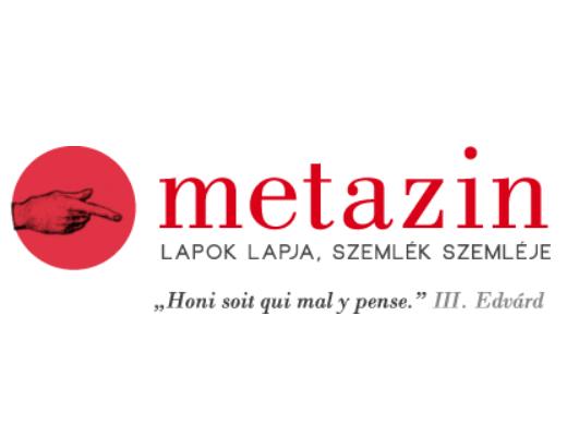 Metazin – sajtószemle