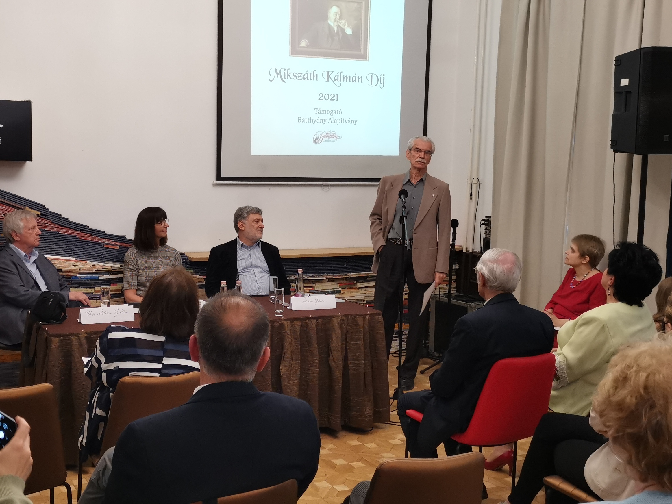 Mikszáth Kálmán Alapítvány – díjátadó